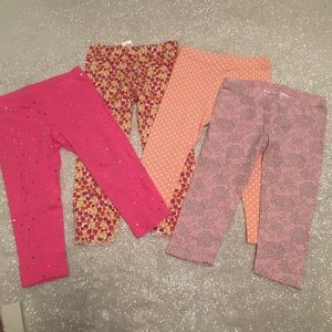 Baby girl 3T 4 pairs leggings pants